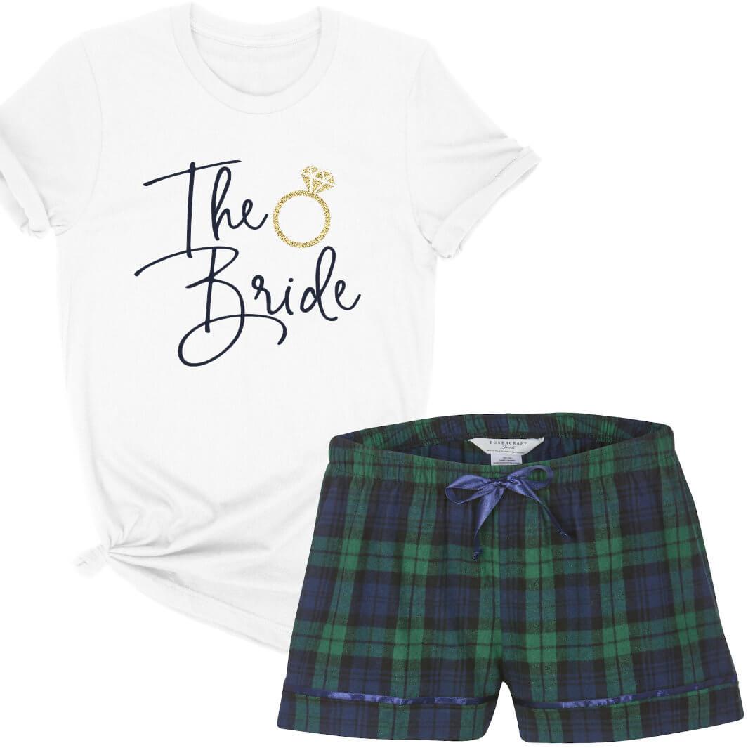 Quot The Bride Quot Pajama Set Personalized Brides