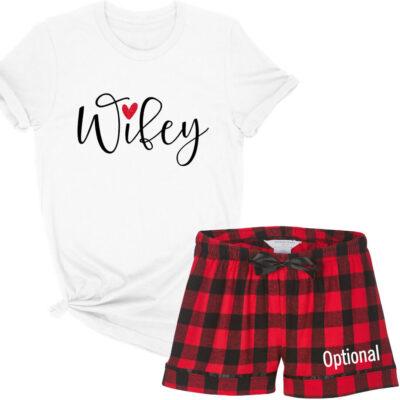 """""""Wifey"""" Pajama Set"""