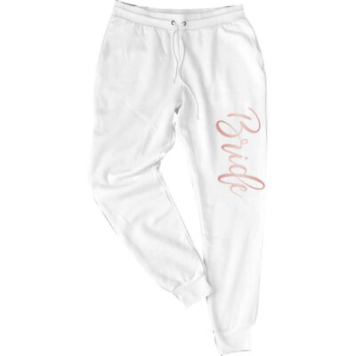 Personalized Bride Jogger Pants