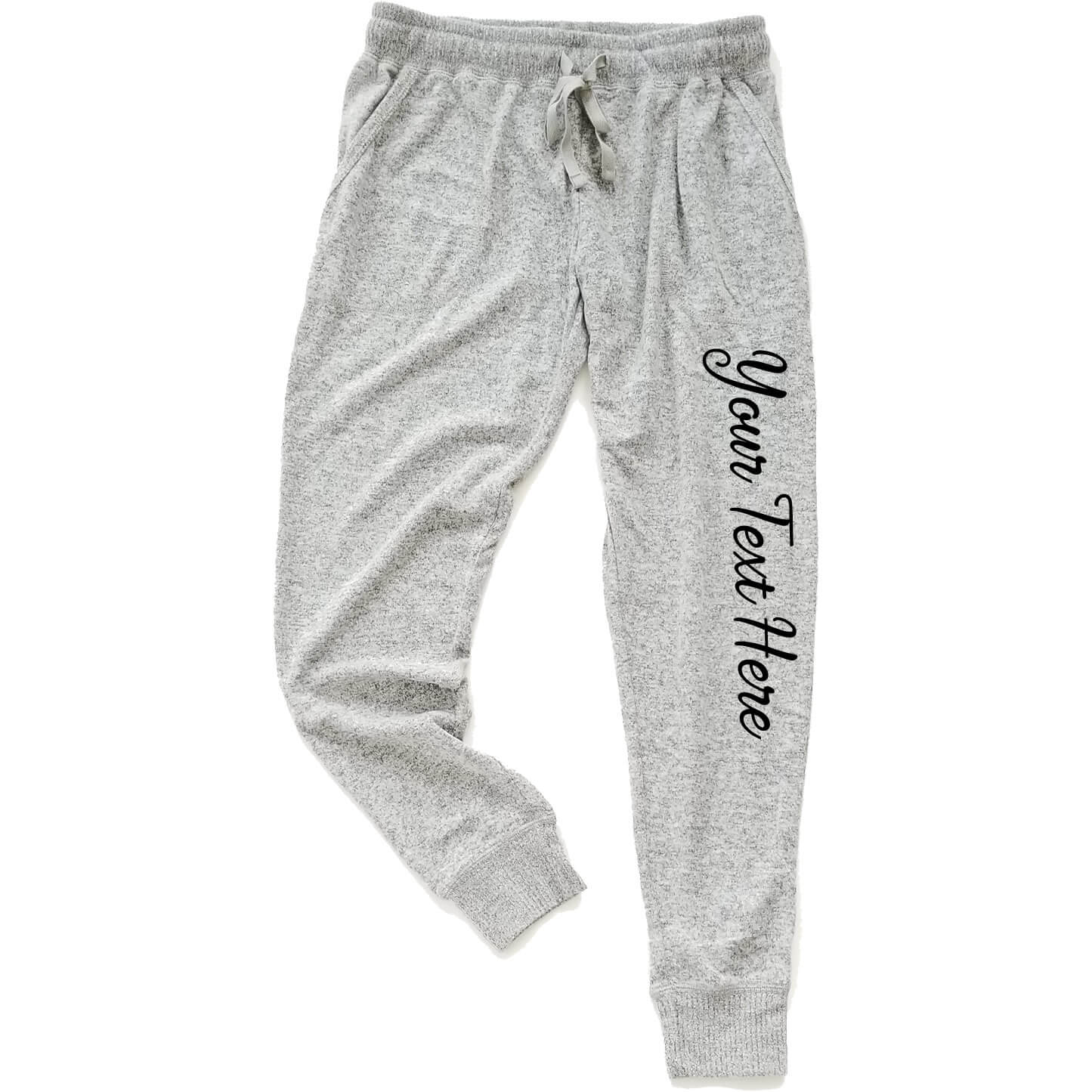 create your own jogger pants personalized brides