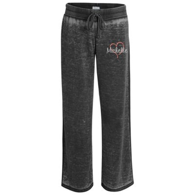 Personalized Pants with Name & Heart