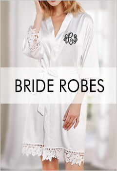 Personalized Bride Robes
