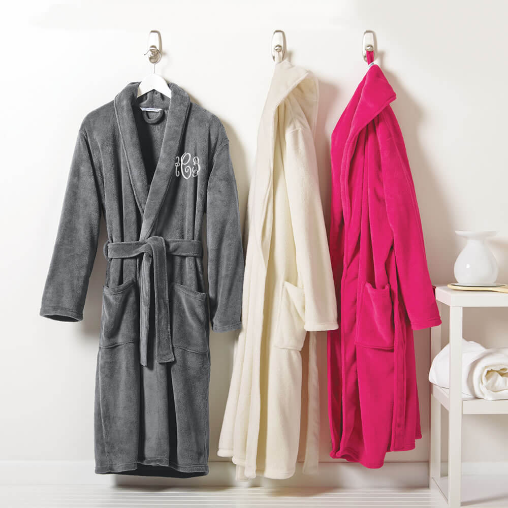 Personalized Plush Robes