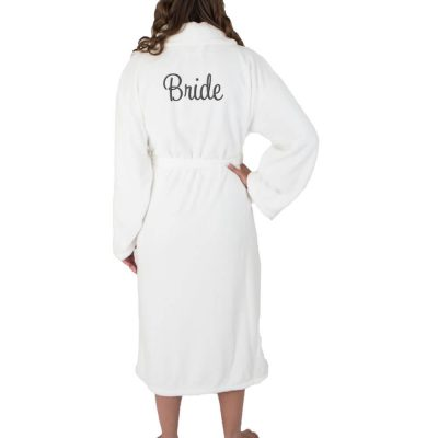 Personalized Plush Bride Robe