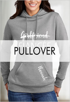 Pullover Bridal Party Hoodies