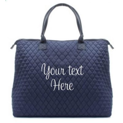 Create Your Own Quilted Tote Bag - Embroidered