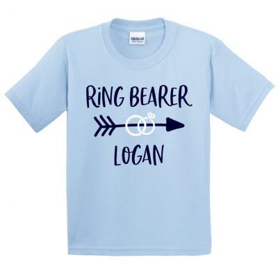 Ring Bearer T-Shirt with Arrow