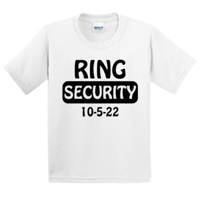 Ring Security T-Shirt with Date