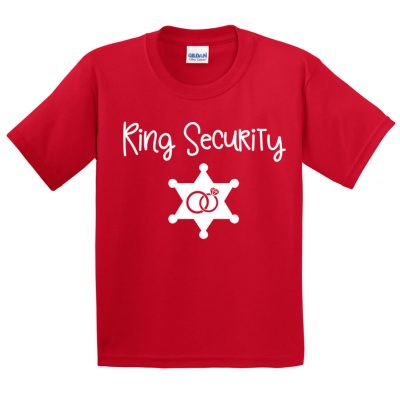 Ring Security T-Shirt with Star Badge