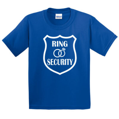 Ring Security T-Shirt with Large Badge