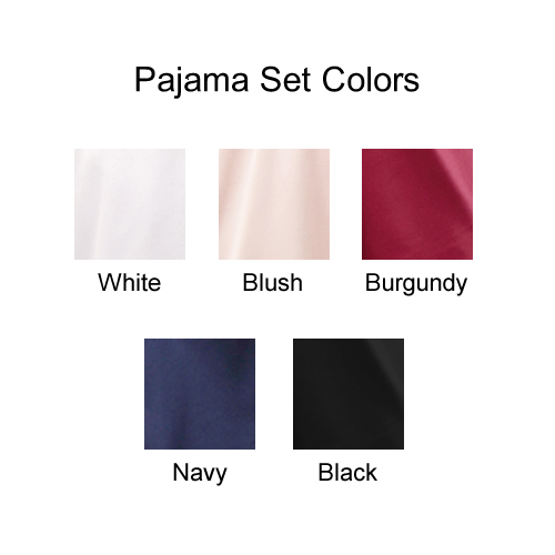 Pajama Set Colors