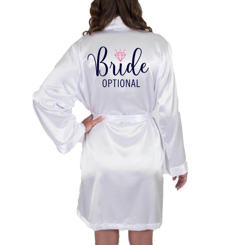Bride Satin Robe