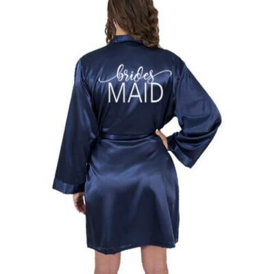 Satin Bridesmaid Robe
