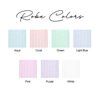 Seersucker Robe Colors