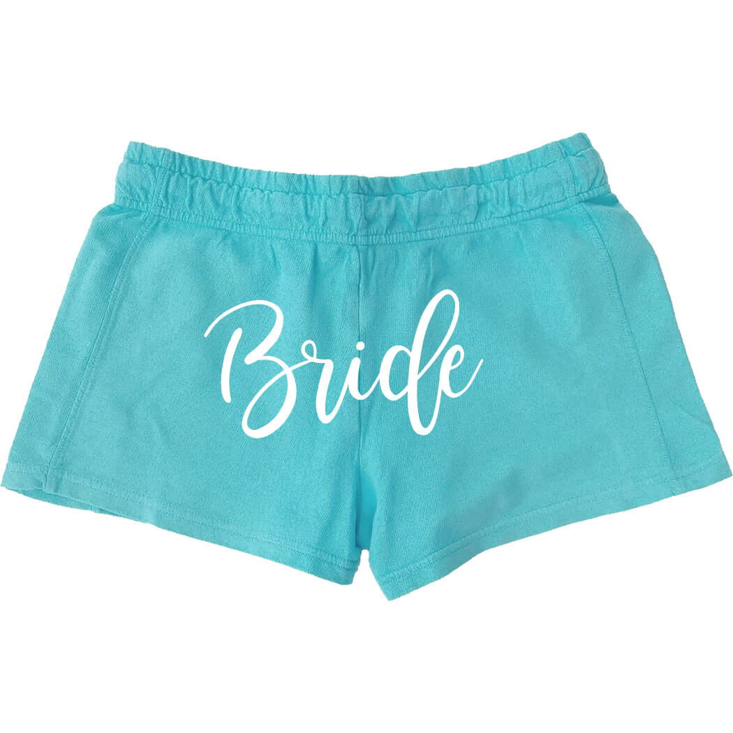 Personalized Bride Shorts - Back | Personalized Brides