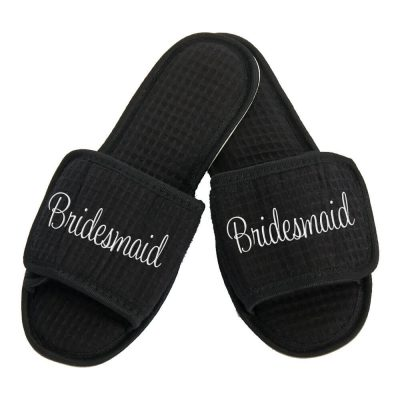 Personalized Bridesmaid Slippers