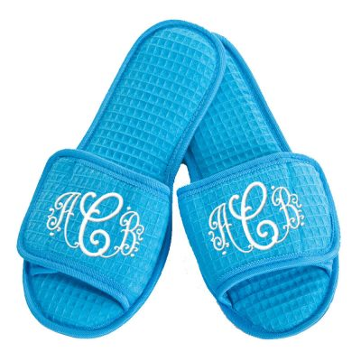 Custom Slippers with Monogram