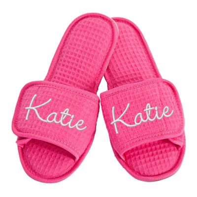Custom Slippers with Name