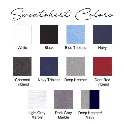 Sweatshirt Colors