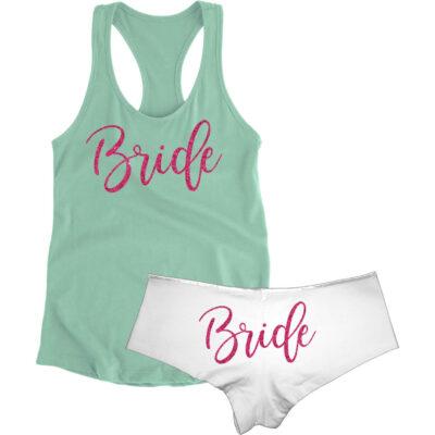 Bride Tank Top & Boyshort Set