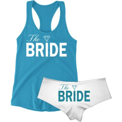 """The Bride"" Tank Top & Boyshort Set"