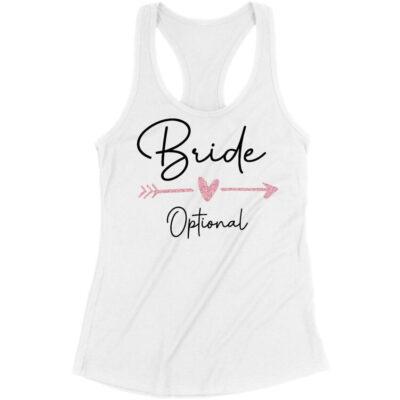 """""""Bride"""" Tank Top with Arrow"""