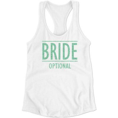 """BRIDE"" Tank Top - Caps"