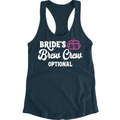 """""""Bride's Brew Crew"""" Tank Top"""