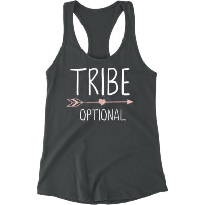 """Tribe"" Tank Top with Arrow"