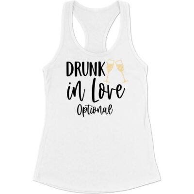 """Drunk in Love"" Flowy Tank Top with Date"