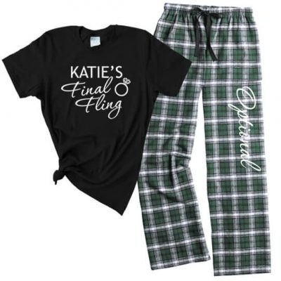 """Final Fling"" Flannel Pants Set"