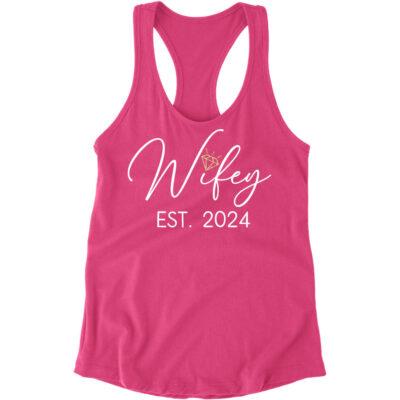 """""""Wifey"""" Flowy Tank Top"""