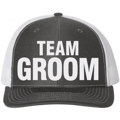 """Team Groom"" Hat"