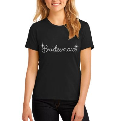 Rhinestone Bridal Party T-Shirt