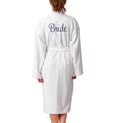 Personalized Bride Terry Robe