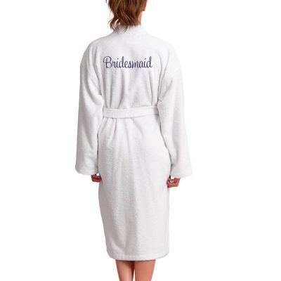 Personalized Bridesmaid Terry Robe