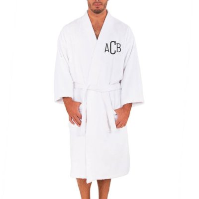 Personalized Groom Terry Robe with Monogram