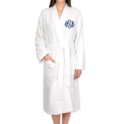 Personalized Terry Robe With Monogram Bride Robe