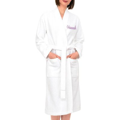 Personalized Terry Robe with Name