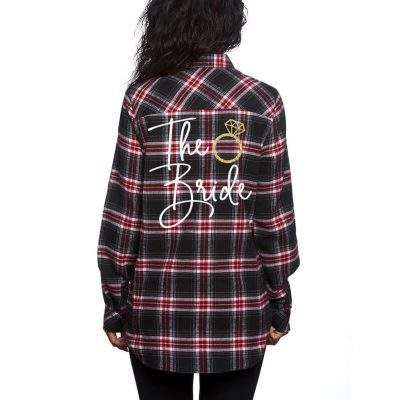 """The Bride"" Flannel Shirt"