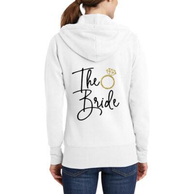 """""""The Bride"""" Full-Zip Hoodie"""