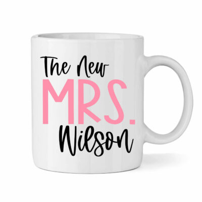 """The New Mrs."" Bride Mug"