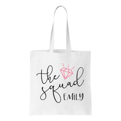 """The Squad"" Canvas Tote Bag"