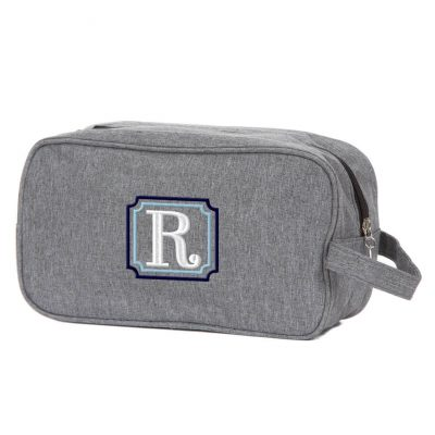 Toiletry Bag with Initial