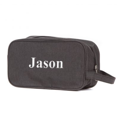 Toiletry Bag with Name