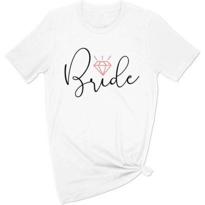 Bride T-Shirt - Modern Script