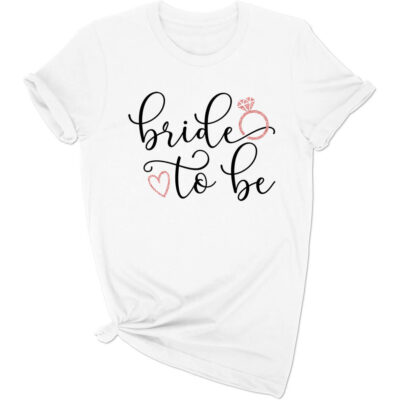 Rhinestone Bride-to-be T-Shirt