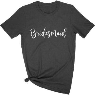 Design Your Own Bridal Party T-Shirt