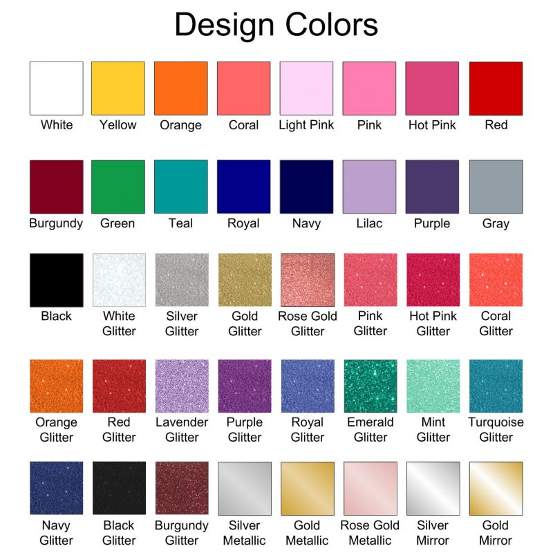 Design Color Chart