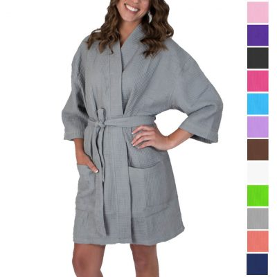 Waffle Robe - Blank